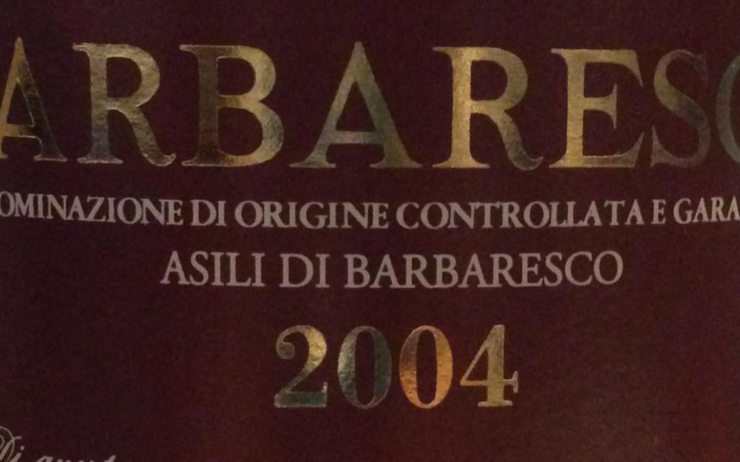 Barbaresco Riserva Asili 2004 di Az. Agr. Falletto (Bruno Giacosa)