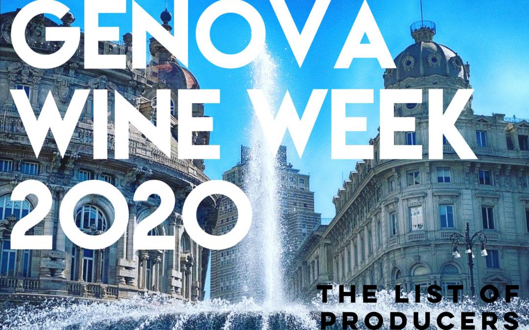 Genova Wine Week